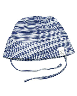 summer hat stripe indigo SS20
