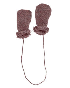 Outdoor Gloves quilt chocolate truffle AW20